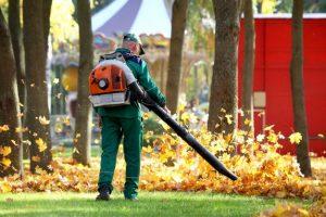 utilisation souffleur de feuilles